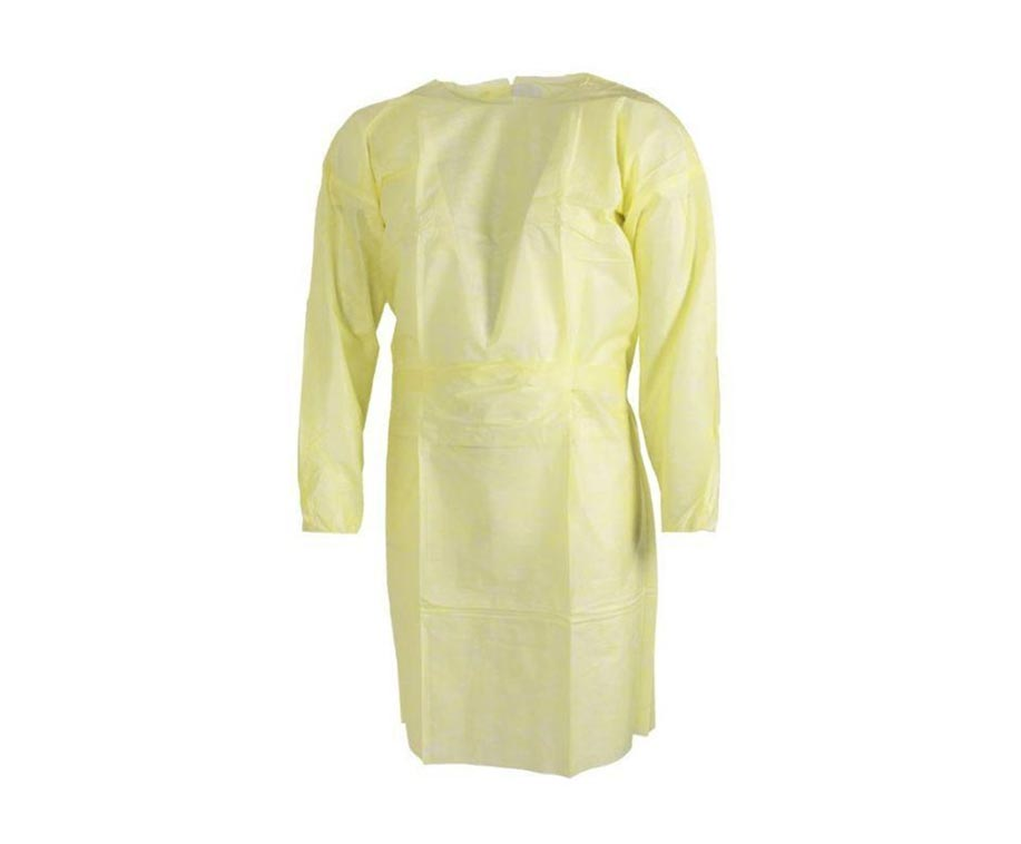 Level-1-Disposable-Yellow-Isolation-Gowns