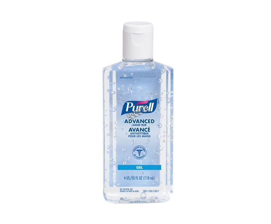 118mL PURELL Advanced Hand Rub Sanitizer