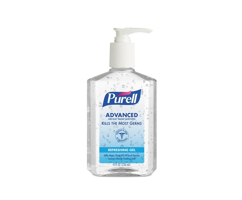 236mL PURELL Advanced Hand Rub Sanitizer